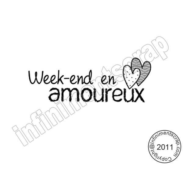 week end en amoureux infinimentscrapdesign. Black Bedroom Furniture Sets. Home Design Ideas