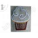 Broderie Le cup cake 1