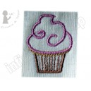 Broderie Le cup cake 2