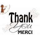 """Thank you, merci"""