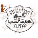 Ecusson Invitation officielle
