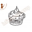 Cup cake chantilly